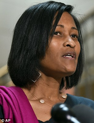 Cut a deal: Cheryl Mills gained partial immunity from the FBI in return for opening her laptop