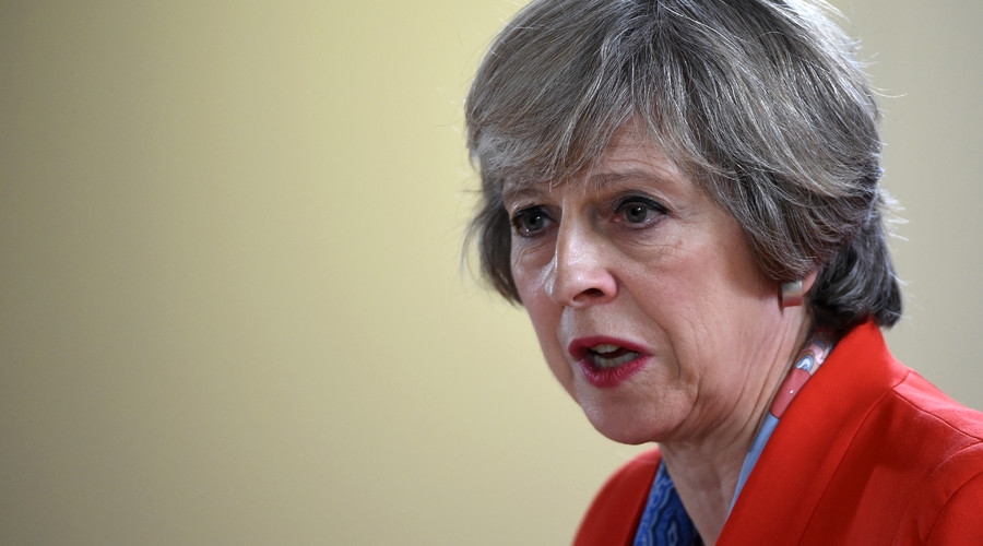 British Prime minister Theresa May ©  Stephane De Sakutin