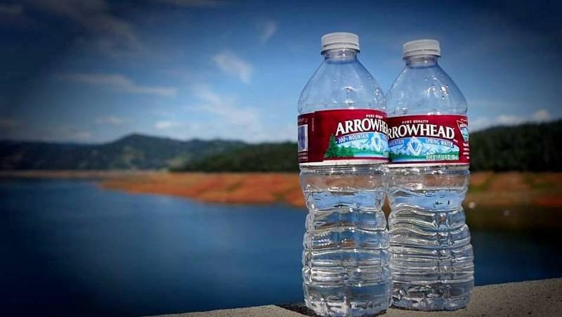 Nestle brand Arrowhead water bottlers. (Screenshot)