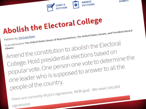 we should abolish the electoral system essay Stanford sociology professor douglas mcadam says the electoral college, which determined this election, is an outdated system.