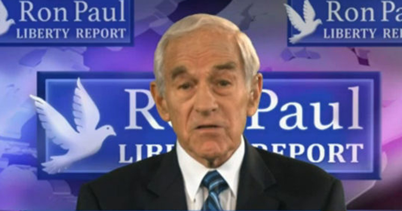 Ron Paul: 'Shadow Government May Pull False Flag To Get Trump Into War'
