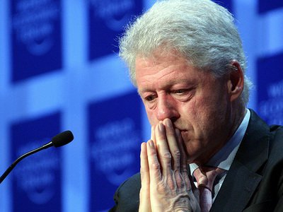 It's probably safe to say this is the expression Bill has often in his marriage.
