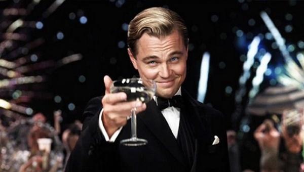 Leonardo DiCaprio in The Great Gatsby.