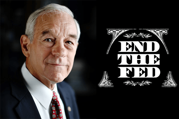 Image result for Ron Paul End The Fed!