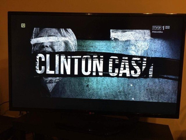 Clinton Cash airs on major Polish broadcaster TVP1 November 3rd 2016