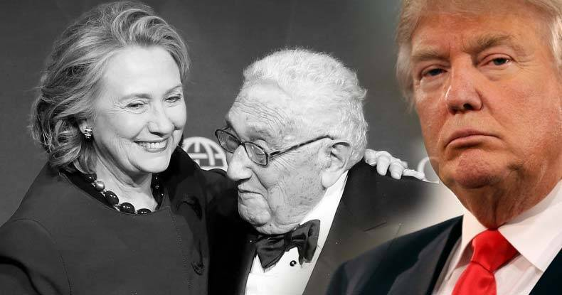 Image result for Trump Just Met with Henry Kissinger: 'I Have Tremendous Respect' for Him