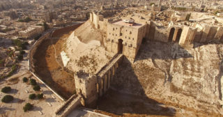 The Aleppo citadel has seen thousands of years of conflict