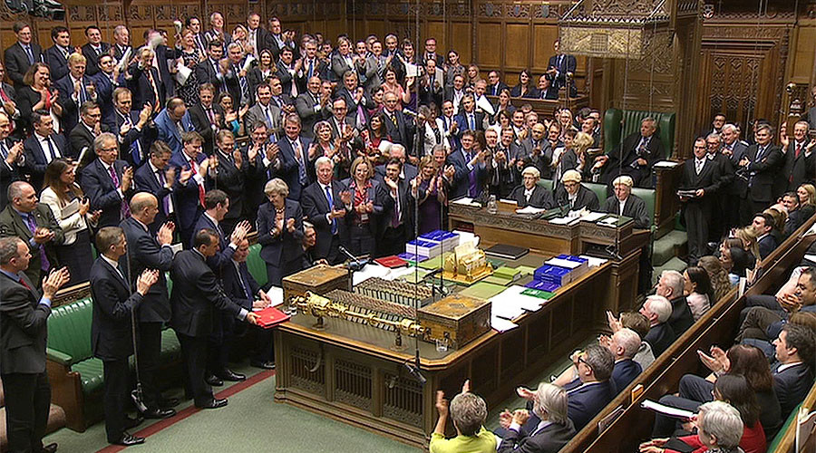 The House of Commons, London, Britain © Parliament TV