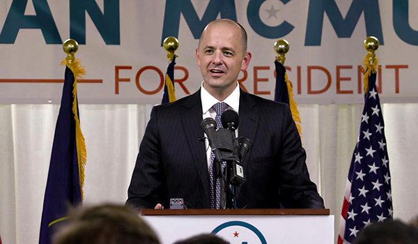 Evan McMullin Still Clings to Hope that he will Somehow be Named President