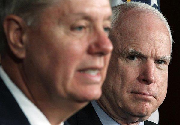 Senators Graham and McCain Have Been Gunning for War