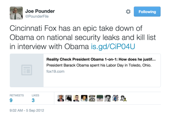 Pounder Ben Obama Interview