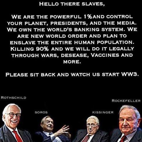 WW3 - Rothschild - Rockefeller