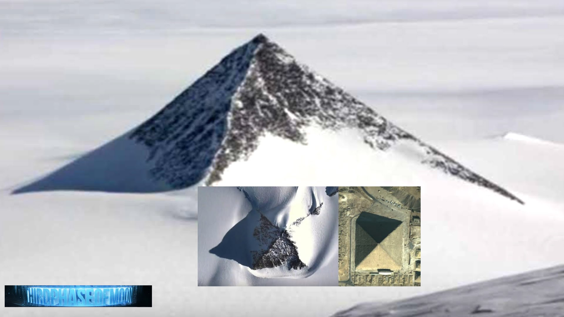 Antarktis Pyramide