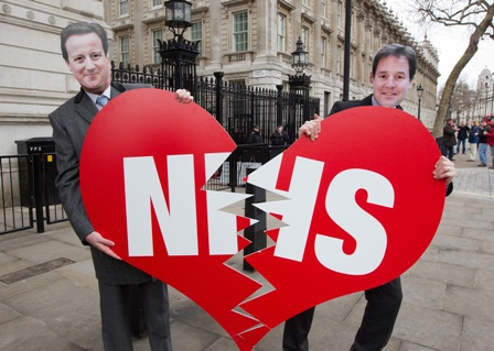 Image result for Broken NHS