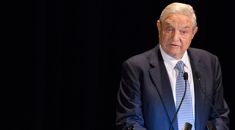 George Soros lashes out at Trump and his 'self-contradictory' ideas