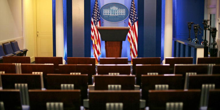 White House press briefing room