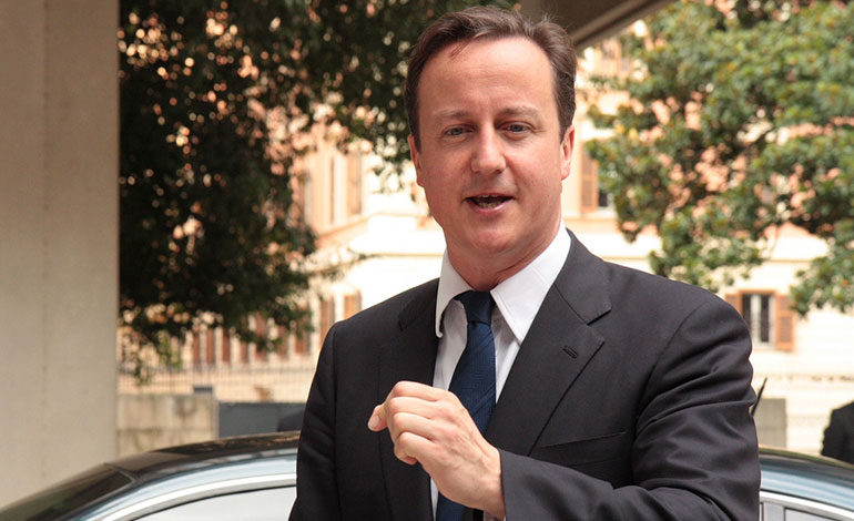 David Cameron helped destroy the health service, but now he's getting rewarded for it