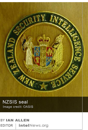 NZSIS New Zealand