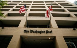 The Washington Post building in downtown Washington, D.C. (Photo credit: Washington Post)