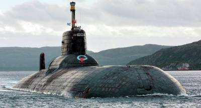 a Kuzbass nuclear-powered submarine