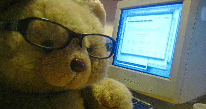Russian hacker bear