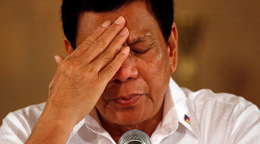 Philippines' Duterte calls Obama 'idiot,' impersonates Trump 'endorsing' his war on drugs