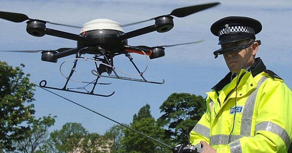 "Image result for Orwell Rolls in Grave as Police Roll Out Unprecedented Drone Air Force to ""Track Anti-Social Behaviour"""