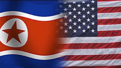north-korea-usa-flag