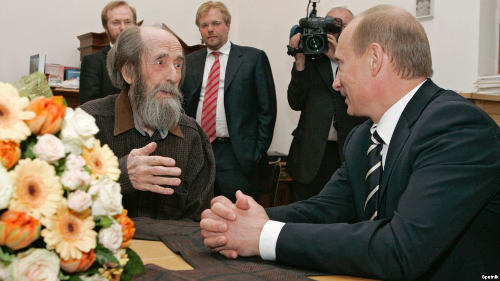 Alexander Solzhenitsyn: Truth Can and Will Destroy the New World Order and Satanism |