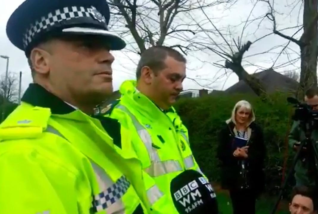 Video thumbnail, Police make a statement in Stourbridge
