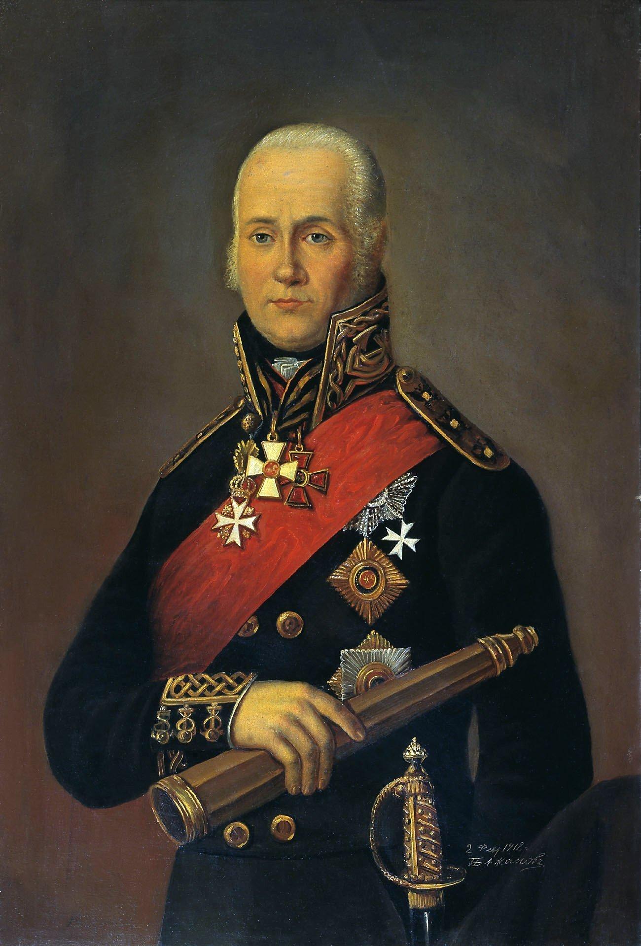 Fyodor Fyodorovich Ushakov. Peter Bajanov (1851-1913)