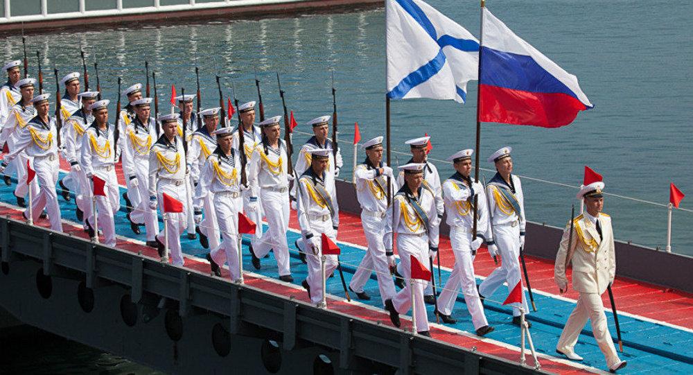Celebrating Russian Navy Day in the Black Sea Fleet (Sevastopol)
