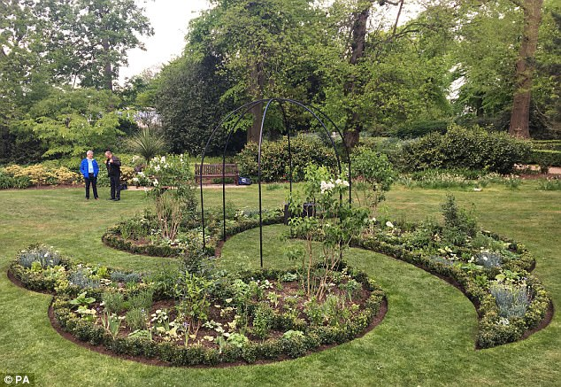 Today a flower garden in tribute to the 140,000 children who go missing annually in Britain has been opened at Chiswick House in west London on the eve of the 10th anniversary of Madeleine McCann's disappearance
