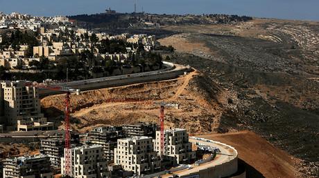 A general view shows the Israeli settlement of Ramot © Ronen Zvulun