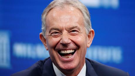 Former British Prime Minister Tony Blair. ©Lucy Nicholson