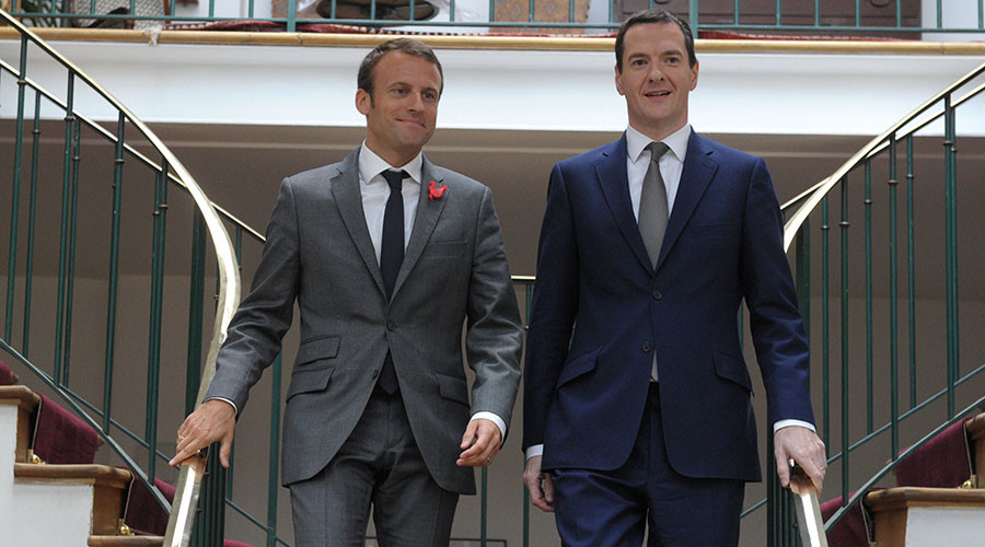 Political outsider? French President-elect Macron has 'friends' across British establishment