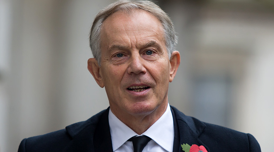 New Yorker magazine publishes fawning interview with Tony Blair
