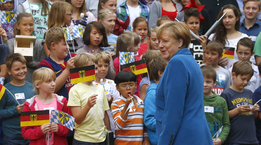 Macron, May & Merkel: Will Europe's childless leaders halt demographic decline?