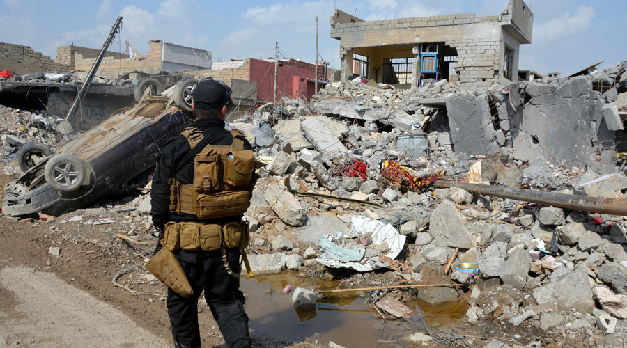 Memo to US-led Iraqi coalition: 'Best way to protect civilians is to stop bombing them'