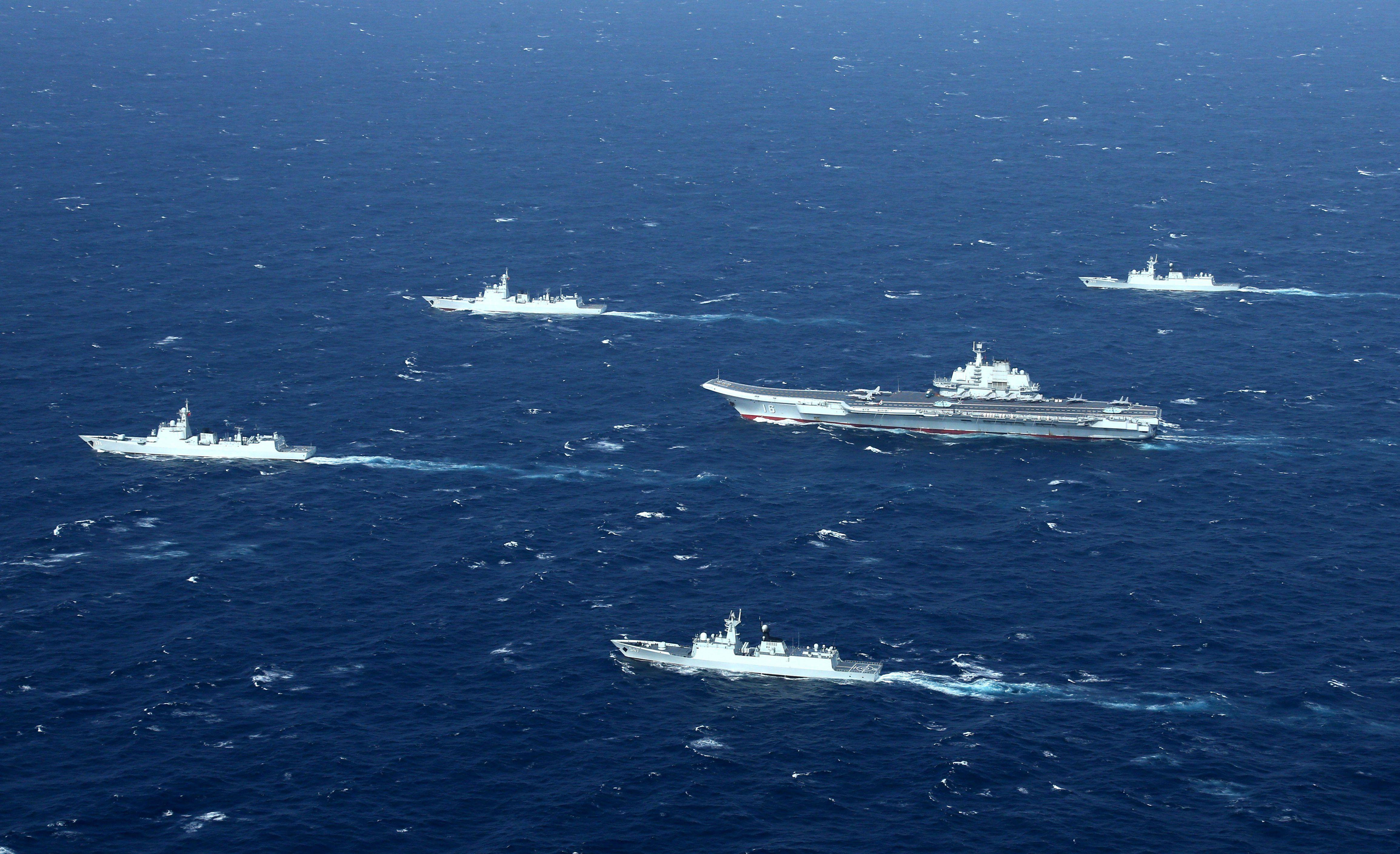 CHINA-NAVY-MILITARY