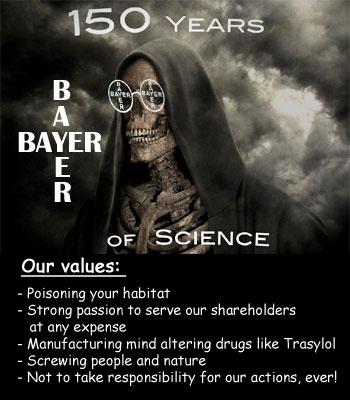 pharmaceutical biotech chemical companies Bayer