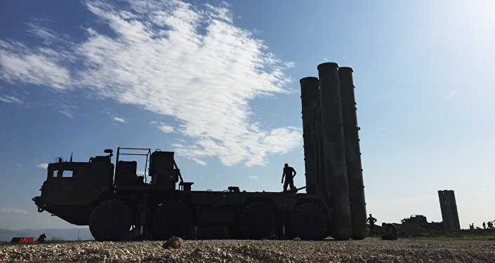 Russia's S-400 advanced air defense systems deployed in Syria