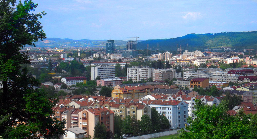 Banja Luka, the largest city of the Republika Srpska entity and second largest city in Bosnia and Herzegovina after the capital Sarajevo