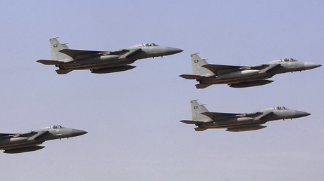 FILE PHOTO Royal Saudi Air Force jets © Fahad Shadeed