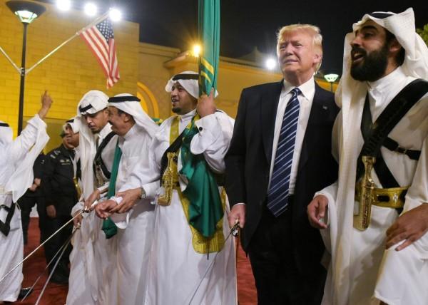 Trump and Saudis