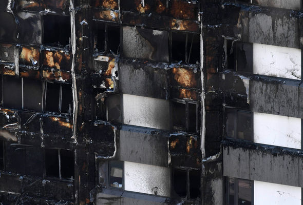 Experts say the foam panel helped spread the fire quickly