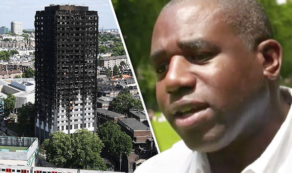 Grenfell Tower - David Lammy