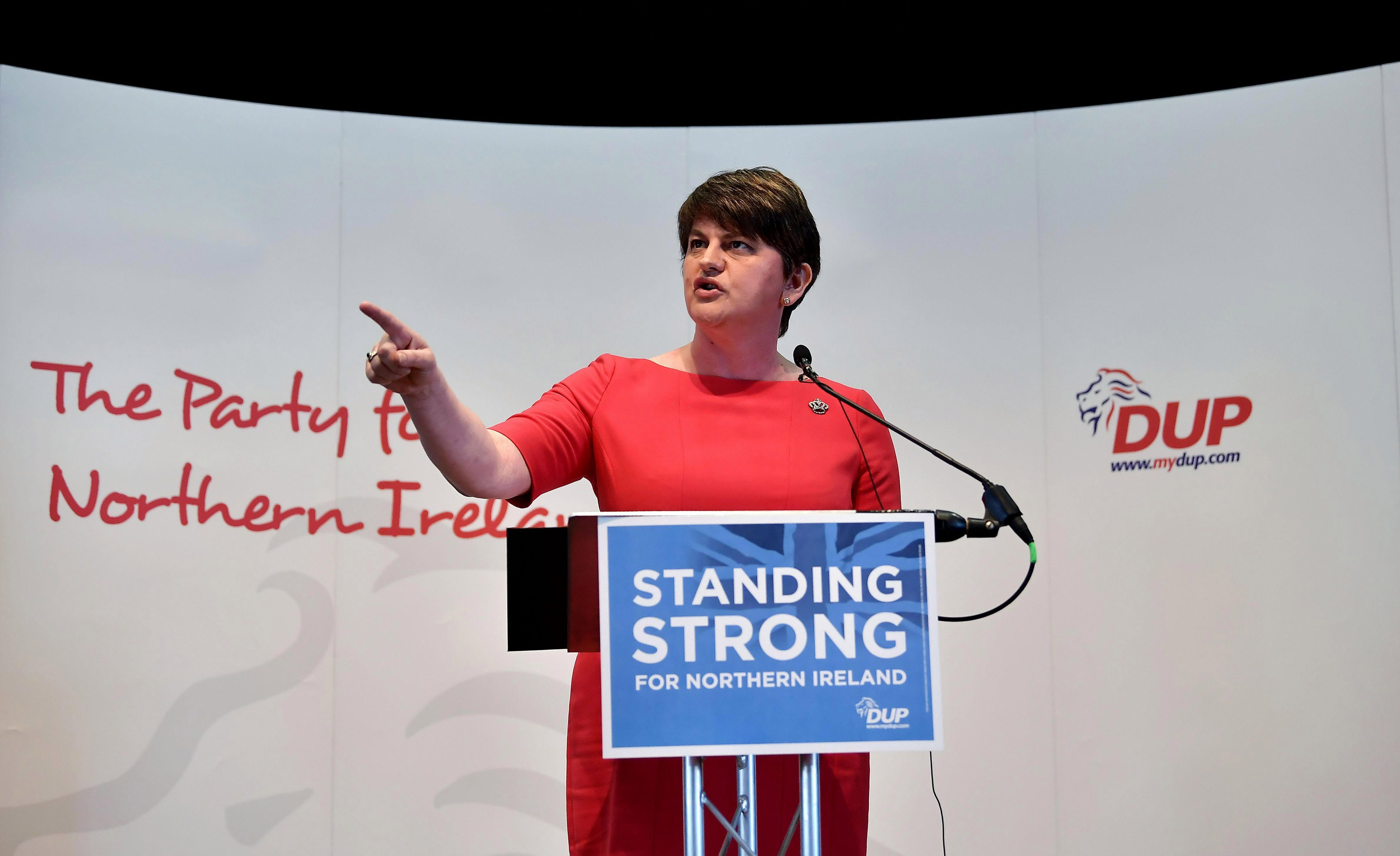 The DUP is the largest party in Northern Ireland