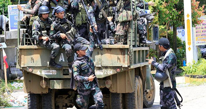 Philippine soldiers