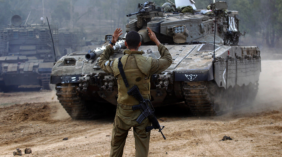 'Israel doing everything to prevent Syria from prevailing against terrorists'